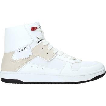 Chaussures Homme Baskets montantes Guess FM8DNK ELE12 Blanc