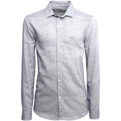 Vêtements Homme Chemises manches longues NeroGiardini A973180U Bleu