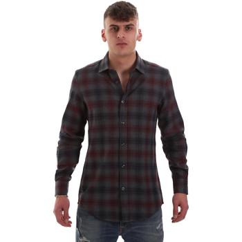 Vêtements Homme Chemises manches longues Antony Morato MMSL00548 FA410091 Gris