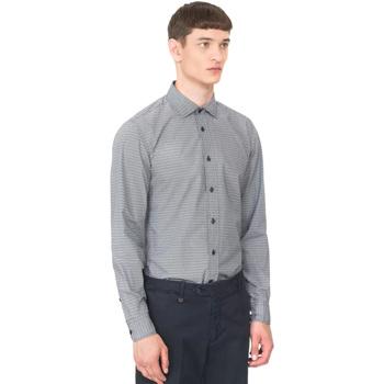 Vêtements Homme Chemises manches longues Antony Morato MMSL00548 FA430389 Bleu