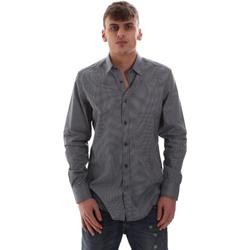 Vêtements Homme Chemises manches longues Antony Morato MMSL00574 FA430158 Bleu