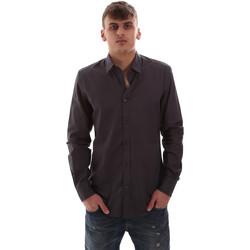 Vêtements Homme Chemises manches longues Antony Morato MMSL00574 FA430403 Gris