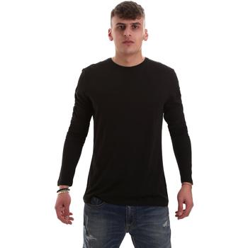 Vêtements Homme T-shirts manches longues Antony Morato MMKL00264 FA100066 Noir