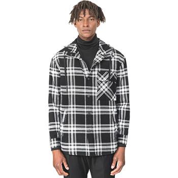 Vêtements Homme Chemises manches longues Antony Morato MMSL00555 FA410113 Noir