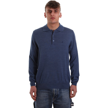 Vêtements Homme Polos manches longues Navigare NV11006 40 Bleu