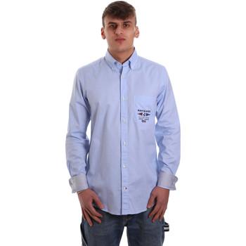 Vêtements Homme Chemises manches longues Navigare NV91061 BD Bleu