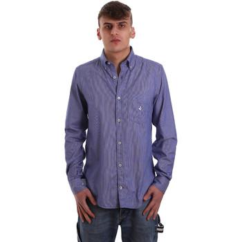 Vêtements Homme Chemises manches longues Navigare NV91068 BD Bleu