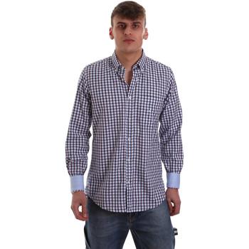 Vêtements Homme Chemises manches longues Navigare NV91072 BD Bleu