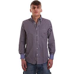 Vêtements Homme Chemises manches longues Navigare NV91074 BD Rouge