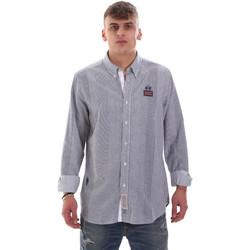 Vêtements Homme Chemises manches longues La Martina OMC021 PP472 Blanc