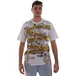Vêtements Homme T-shirts manches courtes Sprayground SP017S Blanc