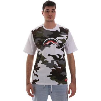 Vêtements Homme T-shirts manches courtes Sprayground SP023S Blanc