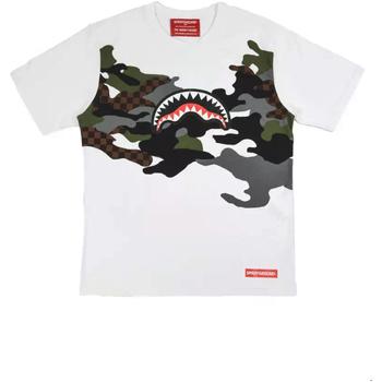 Vêtements Homme T-shirts manches courtes Sprayground SP022S Blanc