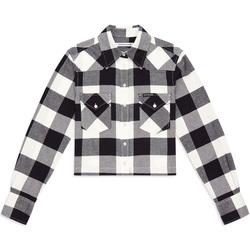 Vêtements Femme Chemises / Chemisiers Calvin Klein Jeans J20J212123 Noir