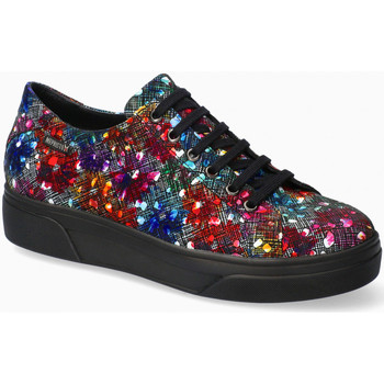 Chaussures Femme Baskets basses Mephisto Baskets cuir vernis FANYA Multicolore