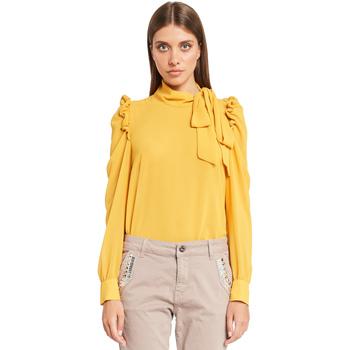 Vêtements Femme Tops / Blouses Denny Rose 921ND45001 Jaune