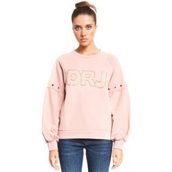 Vêtements Femme Sweats Denny Rose 921ND64018 Rose