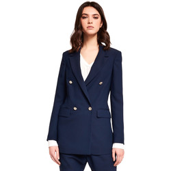 Vêtements Femme Vestes / Blazers Gaudi 921FD35035 Bleu