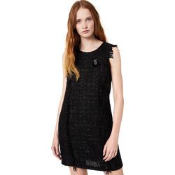 Vêtements Femme Robes courtes Liu Jo W69330 T4080 Noir