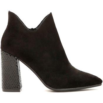 Chaussures Femme Low boots Café Noir MA956 Noir