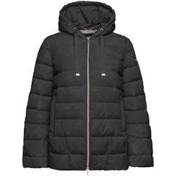 Vêtements Femme Doudounes Geox W9429D T2590 Noir