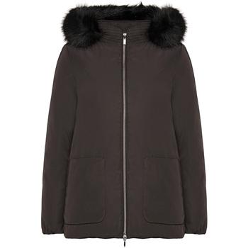 Vêtements Femme Parkas Geox W9420G T2567 Noir