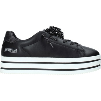 Chaussures Femme Baskets basses Sweet Years W19-SSW830 Noir
