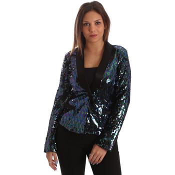 Vêtements Femme Vestes / Blazers Fracomina FR19FP622 Noir