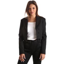 Vêtements Femme Vestes / Blazers Fracomina FR19FP066 Noir