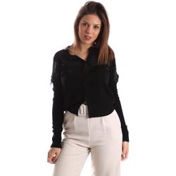 Vêtements Femme Gilets / Cardigans Fracomina FR19FMMARIELLA Noir