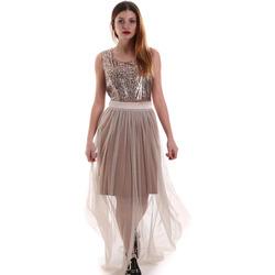 Vêtements Femme Robes longues Fracomina FR19FM518 Beige