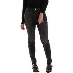 Vêtements Femme Jeans Fracomina FR19FMJ123 Noir