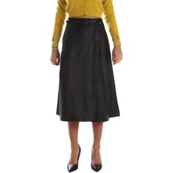 Vêtements Femme Jupes Fracomina FR19FM501 Noir