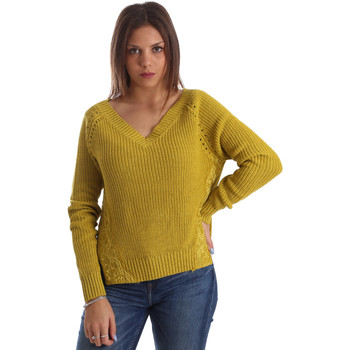 Vêtements Femme Pulls Fracomina FR19FM836 Jaune