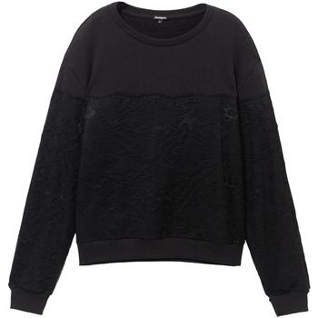 Vêtements Femme Sweats Desigual 19WWSK34 Noir