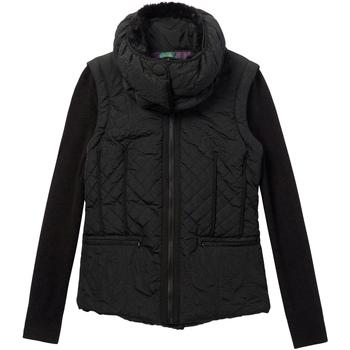 Vêtements Femme Doudounes Desigual 19WWEW07 Noir