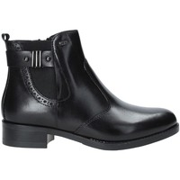 Chaussures Femme Bottines Valleverde 47504 Noir