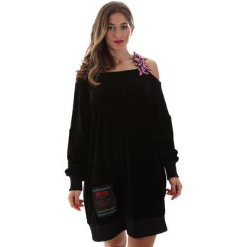 Vêtements Femme Robes courtes Versace B6HUB77011684899 Noir