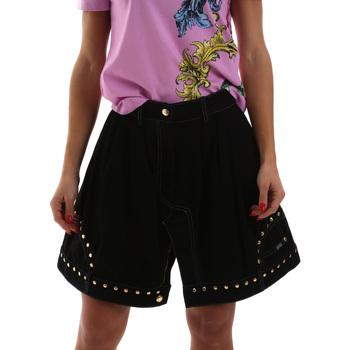Vêtements Femme Jupes Versace A9HUB301APD3W899 Noir
