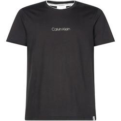 Vêtements Homme T-shirts manches courtes Calvin Klein Jeans K10K104934 Noir