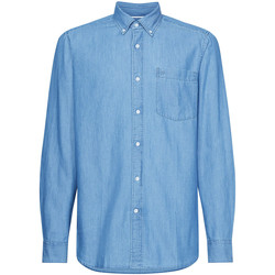 Vêtements Homme Chemises manches longues Calvin Klein Jeans K10K105288 Bleu