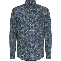 Vêtements Homme Chemises manches longues Calvin Klein Jeans K10K105411 Bleu