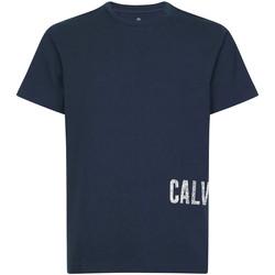 Vêtements Homme T-shirts manches courtes Calvin Klein Jeans 00GMH9K287 Bleu