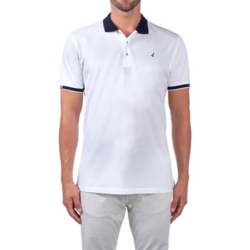 Vêtements Homme Polos manches courtes Navigare NV72058 Blanc