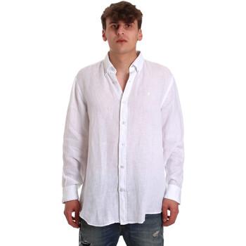 Vêtements Homme Chemises manches longues Navigare NV91108 Blanc