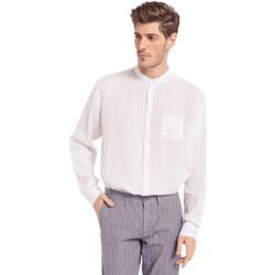 Vêtements Homme Chemises manches longues Gaudi 011BU45001 Blanc