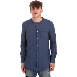 Vêtements Homme Chemises manches longues Gaudi 011BU45001 Bleu