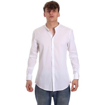 Vêtements Homme Chemises manches longues Gaudi 011BU45013 Blanc