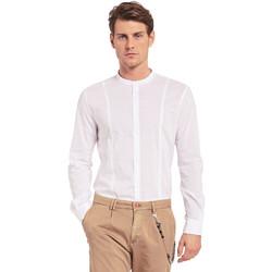Vêtements Homme Chemises manches longues Gaudi 011BU45031 Blanc