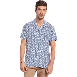 Vêtements Homme Chemises manches courtes Gaudi 011BU45046 Bleu